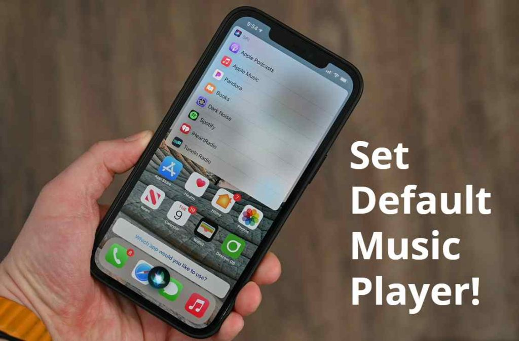 A Default Music Player of Your Choice