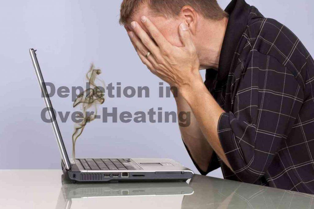 Depletion in Over-Heating