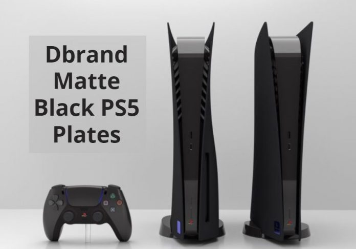 Dbrand Designed and Release Matte Black PS5 Plates in the Market
