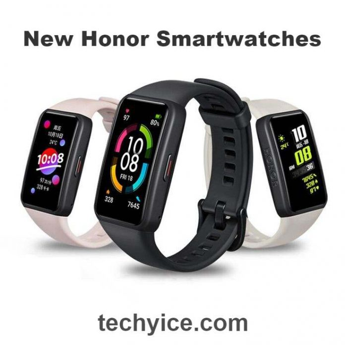 3 New Smartwatches by Honor and Some 5G Phones