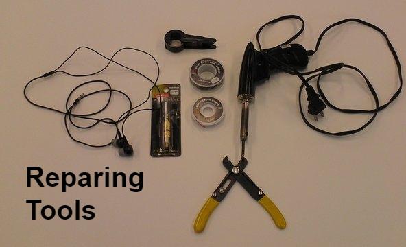 Reparing tools kit