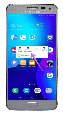Hide From Home Screen