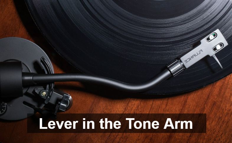 Lever in the Tone Arm