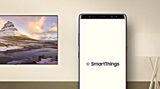 Screen Mirroring with the Samsung SmartThings App