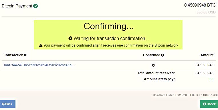 When is a Transaction Confirmed