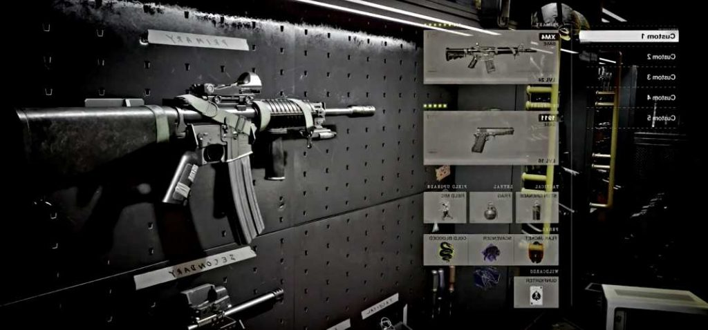 Weaponry and Equipment