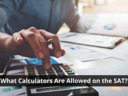 What Calculators Are Allowed on the SAT?